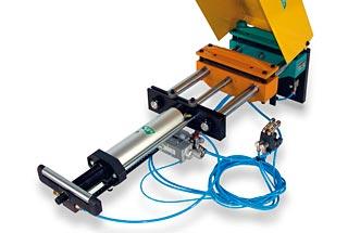 Alimentador neumático para prensas