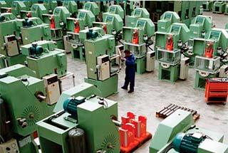 Fabricación de prensas mecánicas en serie