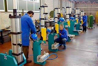 Prensas hidroneumáticas PCM montaje