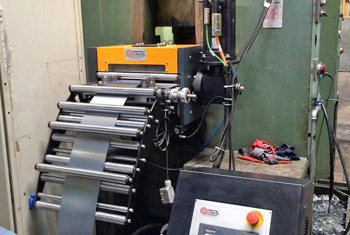 Alimentador de control numérico CNC rodillos