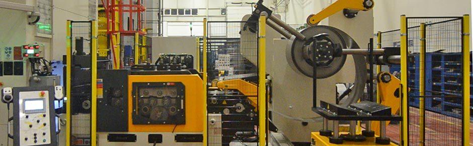 Línea de alimentación compacta para el sector automoción